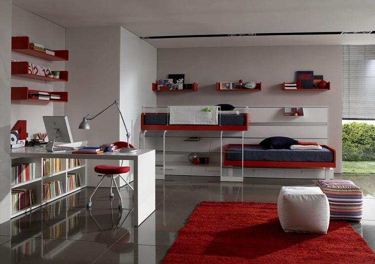 camerette-ragazzi-letti-castello-scrivania