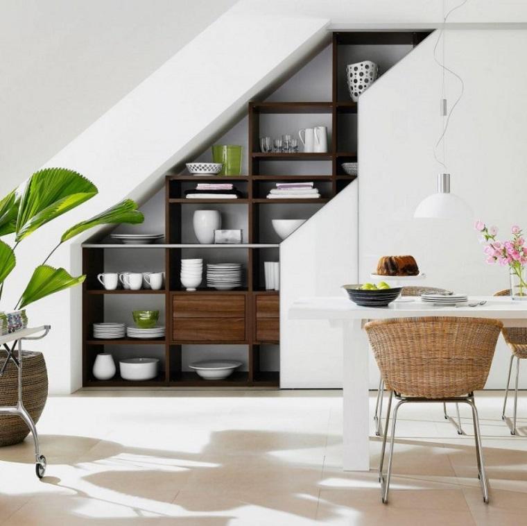 come arredare casa piccola-sottoscala