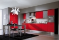 Cucine rosse: dieci idee che vanno oltre la tentazione!