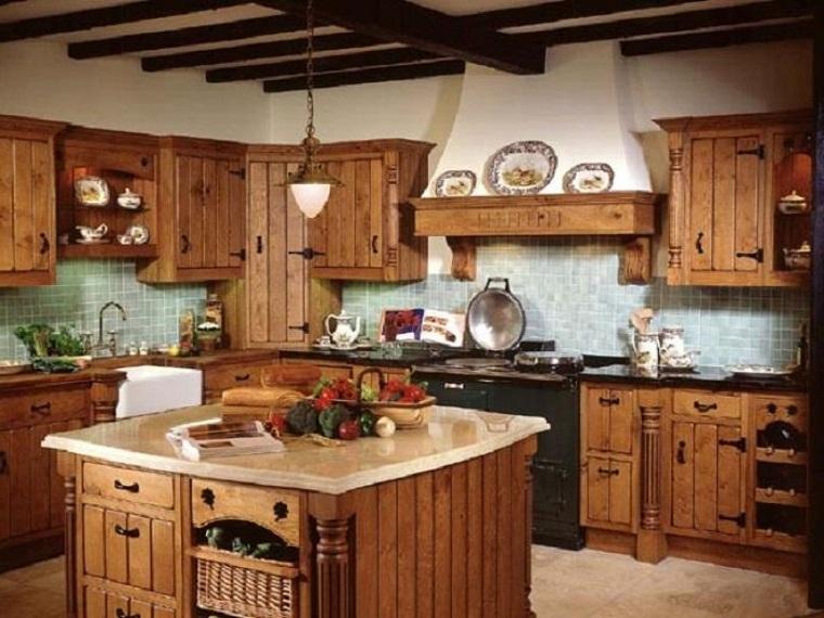 cucina-rustica-idea-calda-accogliente