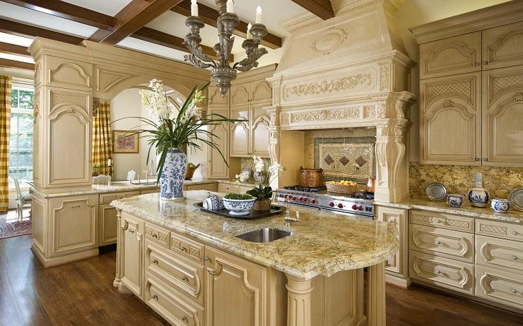 Cucine rustiche legno e pietra tutta l 39 accoglienza del focolare - Cucina rustica in pietra ...