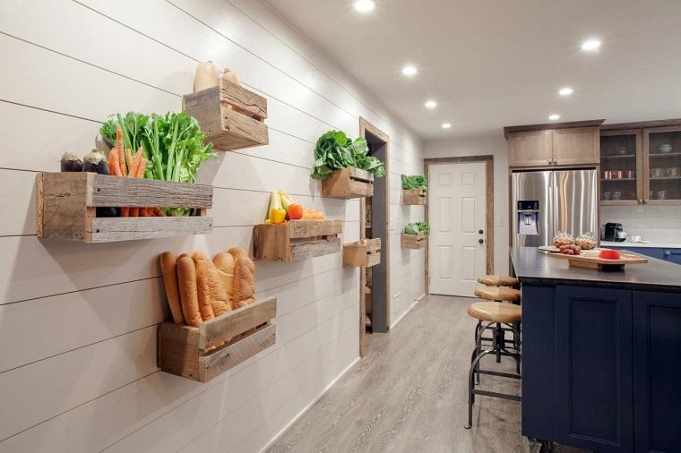cucina-rustica-idea-decorare-parete