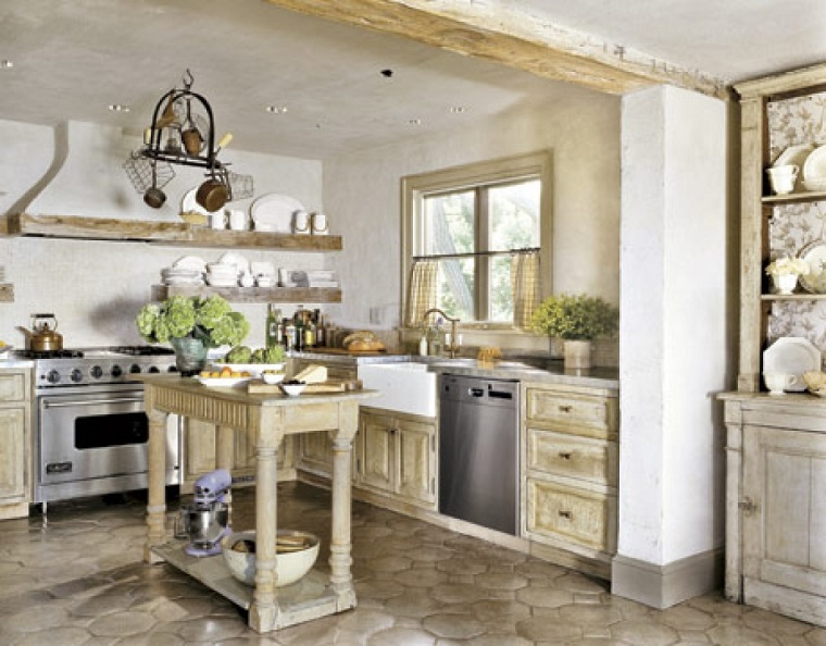cucina-rustica-idea-dimensioni-ridotte