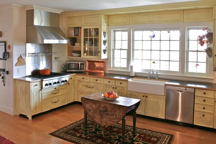cucina-rustica-idea-legno-angolare