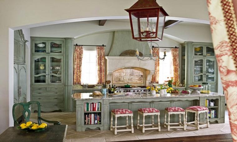 cucina-rustica-idea-lineare-colorata