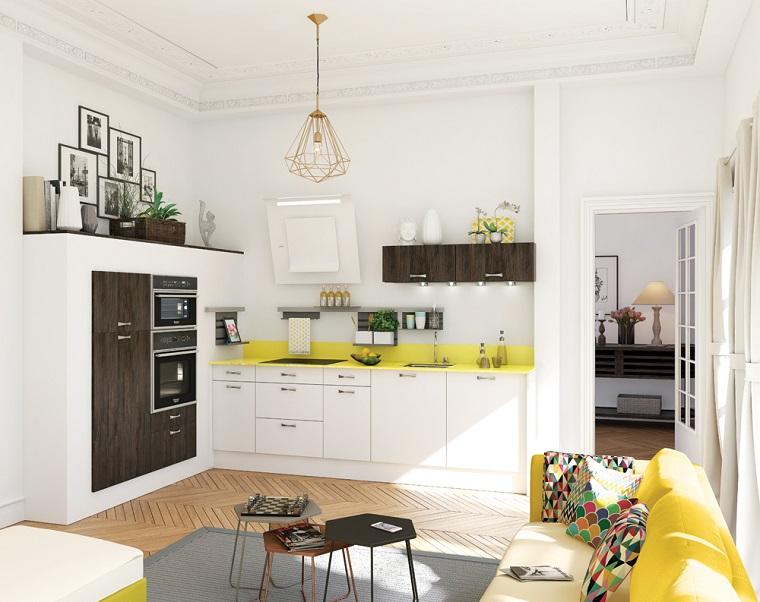 cucine-bianche-classiche-open-space