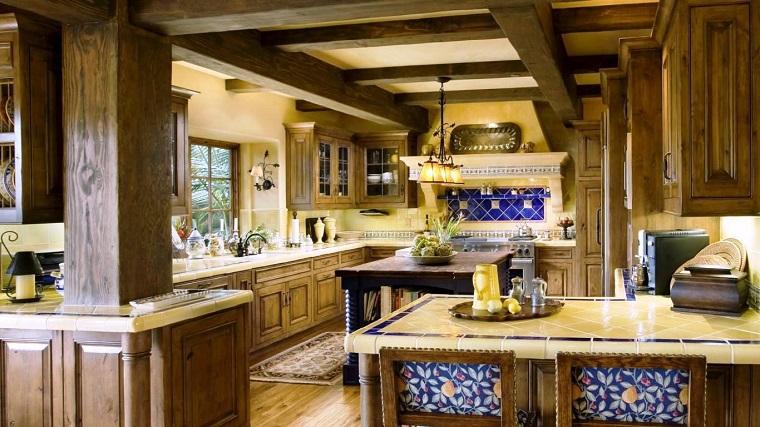 cucine-rustiche-idea-ampie-dimensioni