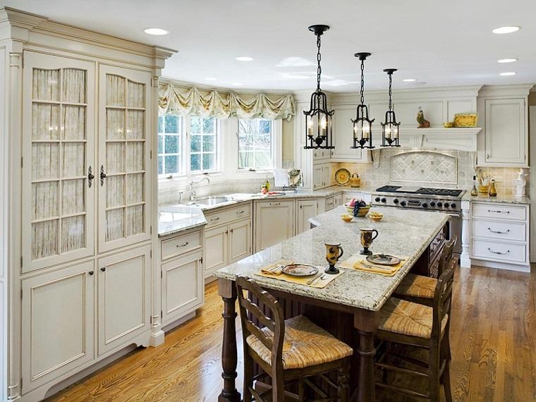 cucine rustiche-idea-mobili-bianchi