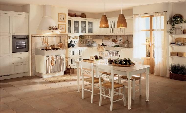 cucine rustiche-proposta-tavolo-pranzo