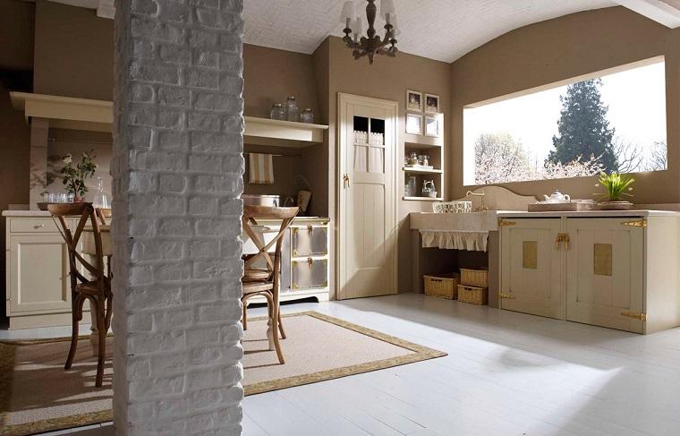 cucine rustiche-soluzione-design-semplice