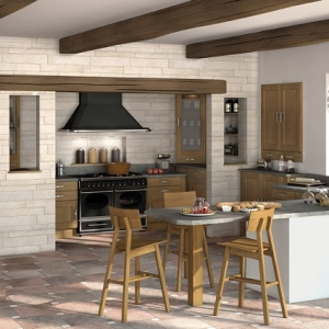 Cucine in muratura rustiche: idee per la casa in campagna - Archzine.it
