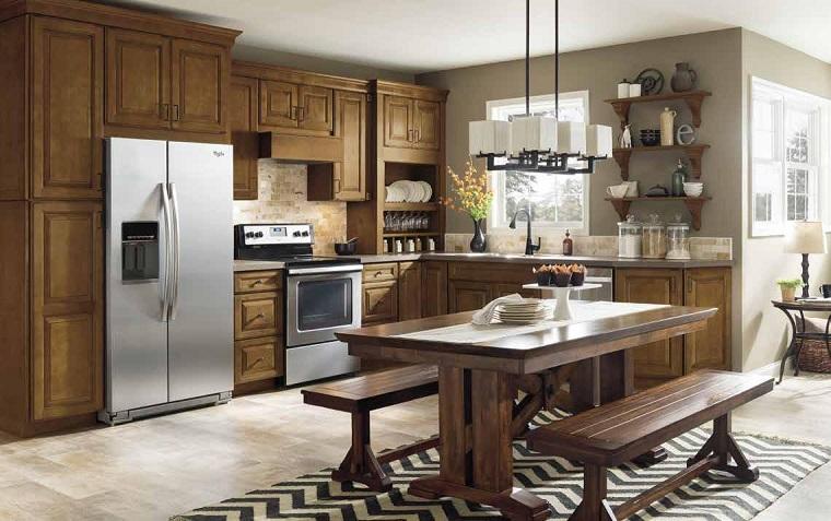 cucine-stile-inglese-mobili-legno