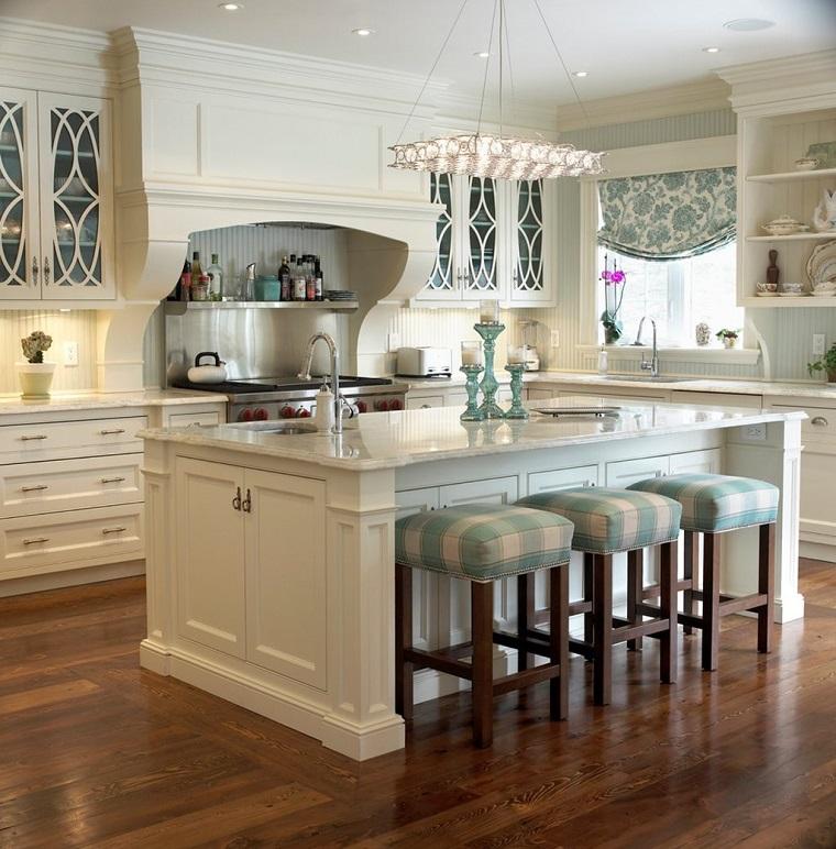 cucine-stile-inglese-sgabelli-legno