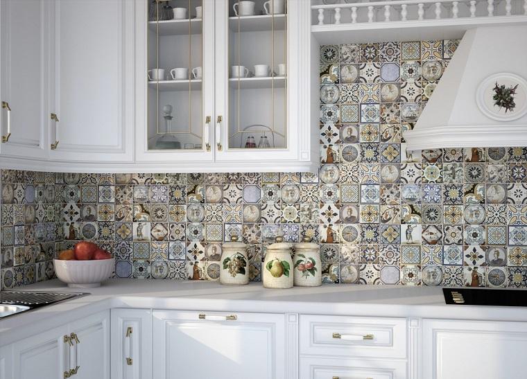Piastrelle cucina decorate. esszimmer piastrelle decorate per cucina