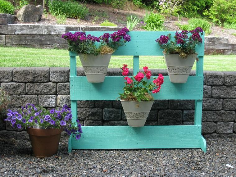 Fioriere fai da te semaforo verde a originalit e riciclo for Fioriera legno fai da te