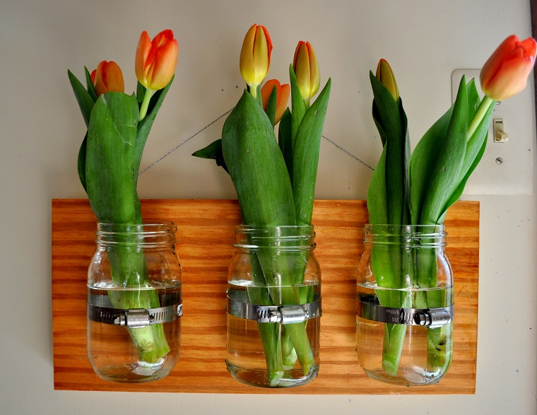 fioriere fai da te-barattoli-vetro