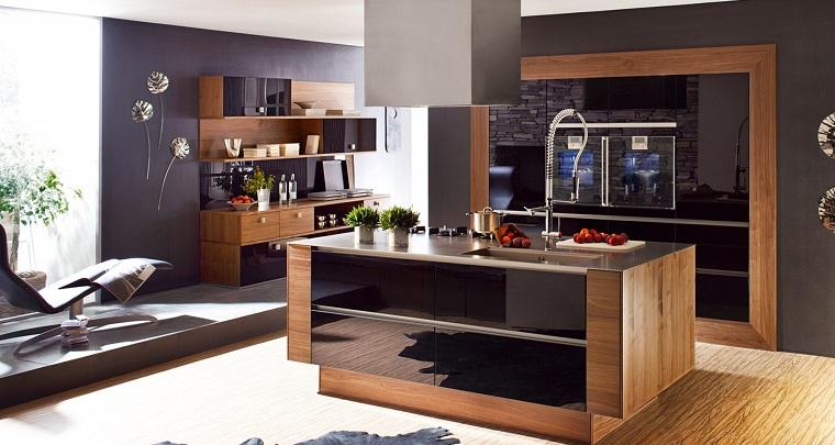 isola centrale cucina-idea-open-space