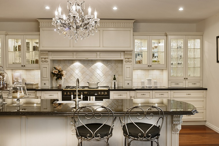 lampadari cucina-idea-elegante-cristallo
