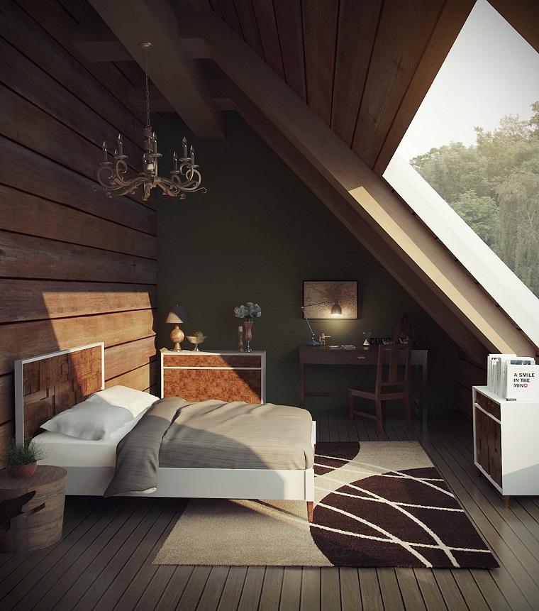 mansarde-in-legno-idea-camera