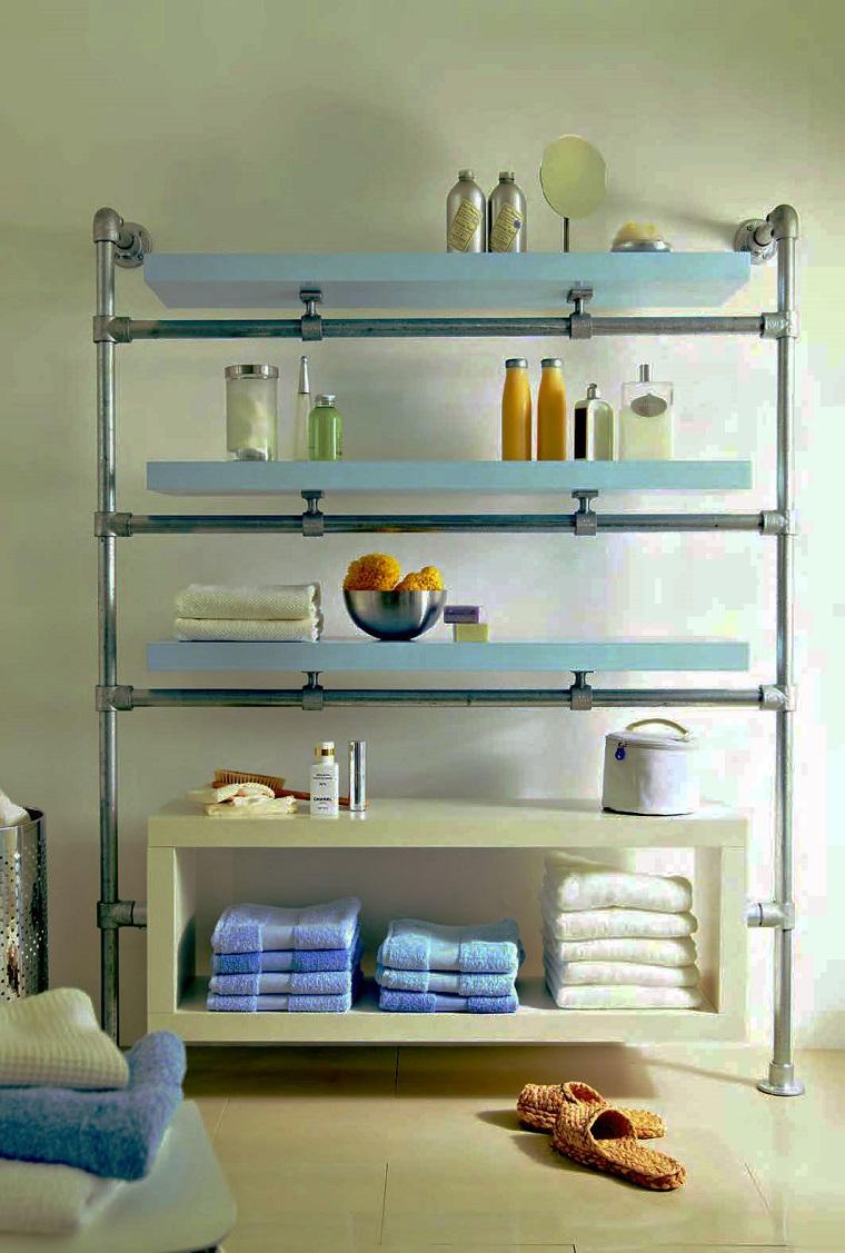 mensola-bagno-idea-struttura-acciaio