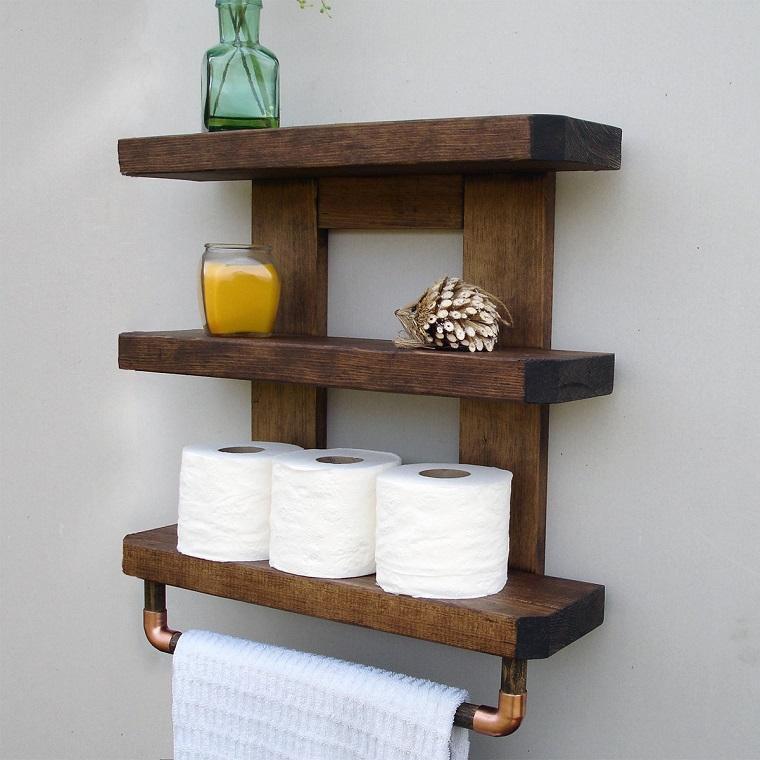 Mensole Per Bagno In Legno.Mensole Bagno Tante Proposte Per Ogni Esigenza E Stile Archzine It