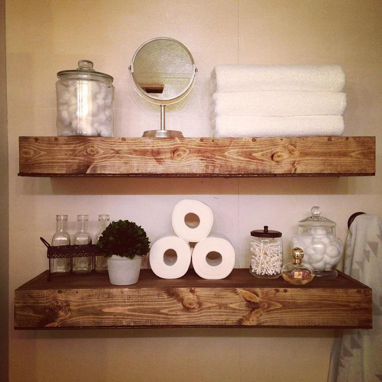 Mensole bagno tante proposte per ogni esigenza e stile for Mensole angolari per bagno