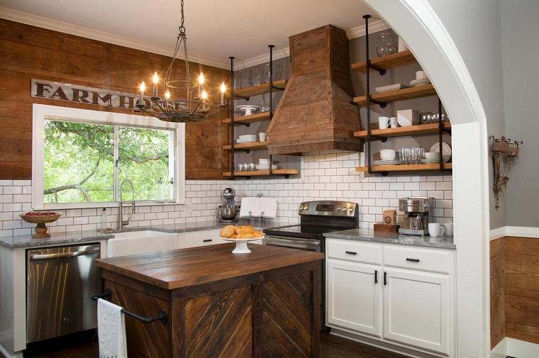 Mensole cucina: dieci idee originali per ordinare e arredare ...