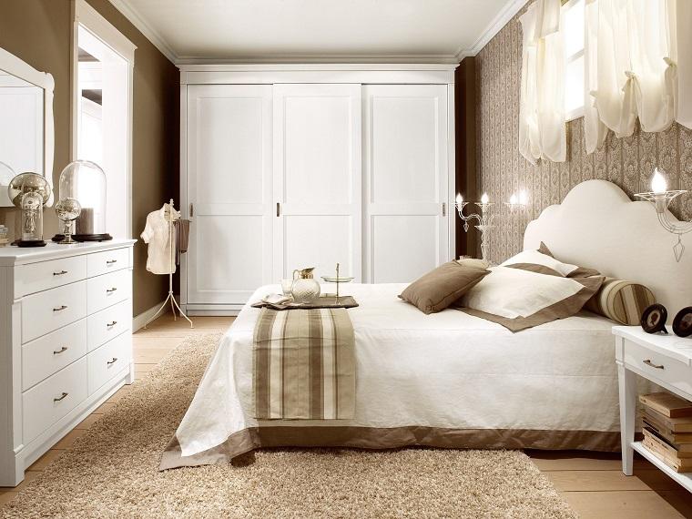 English style look britannico per tutti gli ambienti della casa - Camera da letto country ...