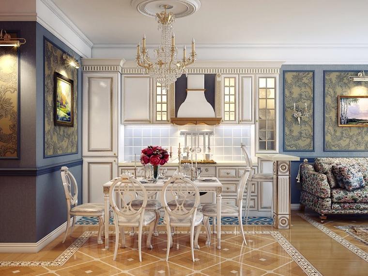 mobili-stile-inglese-sala-pranzo