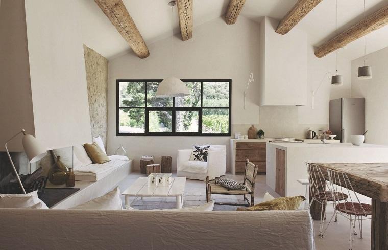 mobili stile provenzale-open-space