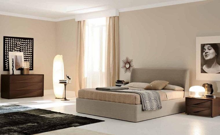 parete-beige-camera-mobili-legno