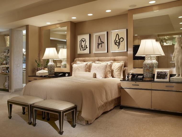 parete-beige-idea-camera-letto-elegante