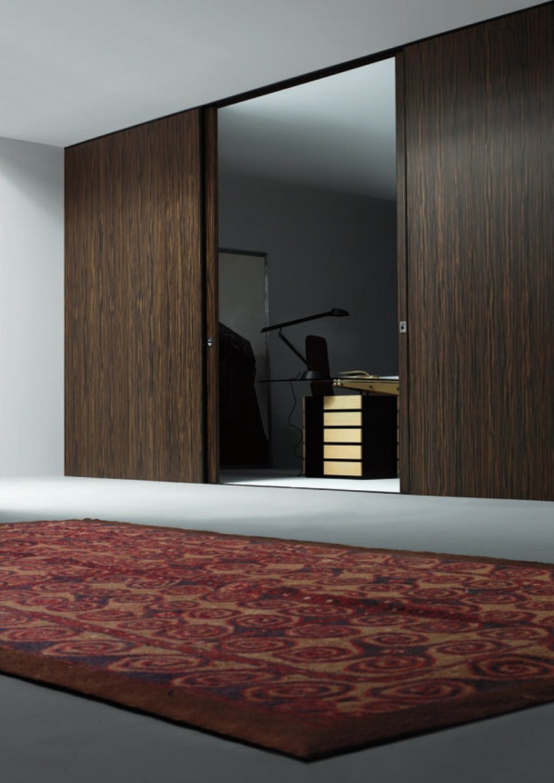 parete-scorrevole-soluzione-legno-scuro