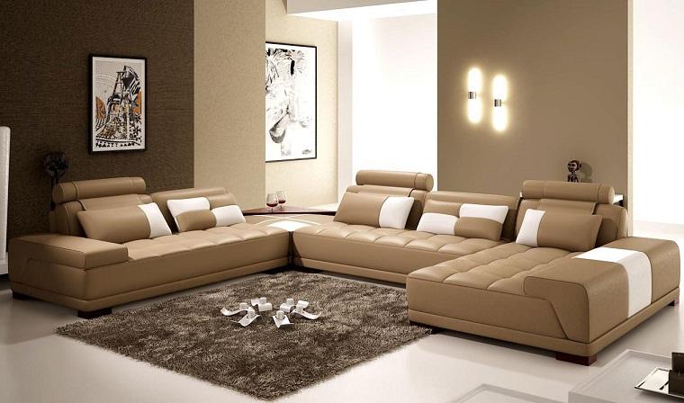 pareti beige-salone-stile-moderno