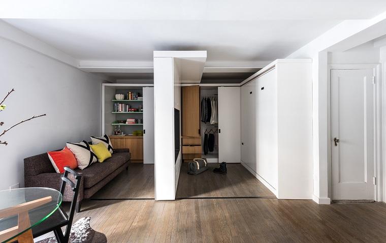 pareti scorrevoli-idea-mini-appartamento
