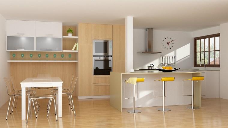pavimenti cucina-stile-moderno-parquet