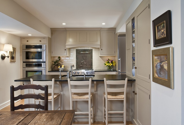 penisola cucina-idea-stile-rustico