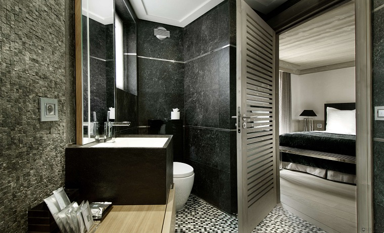 piastrelle bagno moderno-pietra-marmo