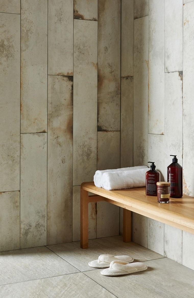 Piastrelle bagno moderno tantissime idee per scegliere il rivestimento ad hoc - Rivestimento bagno moderno ...