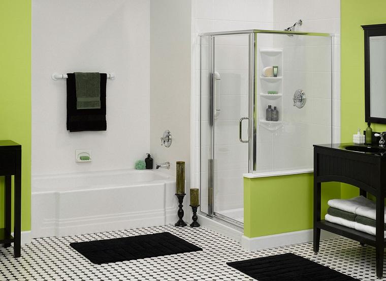 rivestimento-bagno-pittura-verde
