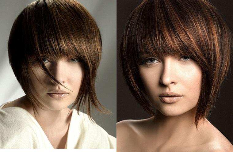 tagli capelli corti-frangia-importante