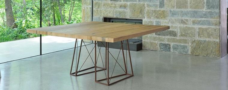 tavoli in legno-stile-essenziale