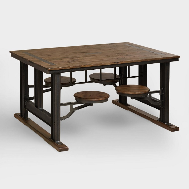 tavolo-di-legno-sedute-incorporate