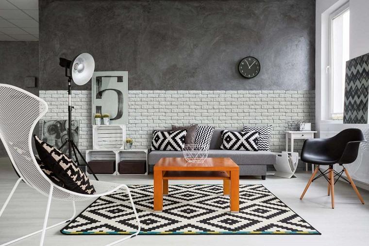 urban-style-soluzione-salotto-bianco-nero