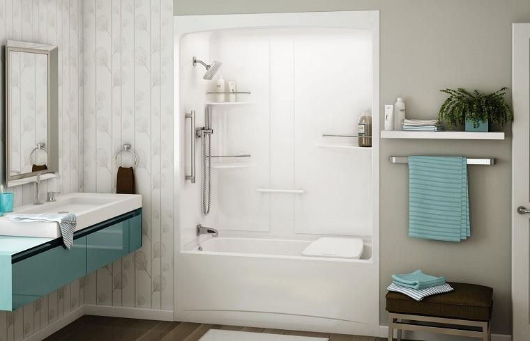 vasche da bagno con doccia-soluzione-compatta