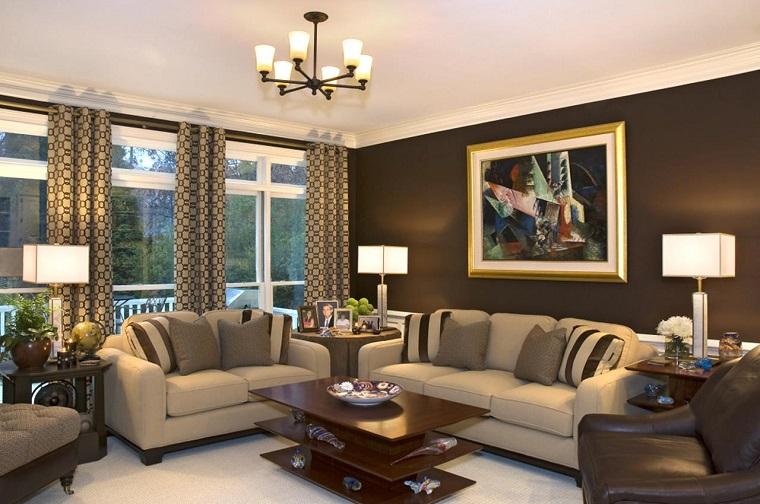 zona living-soluzione-elegante-toni-marrone