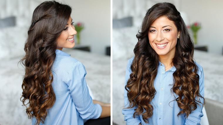 acconciature capelli lunghi-idea-boccoli
