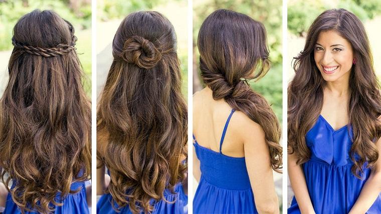 come acconciare i capelli lunghi e lisci