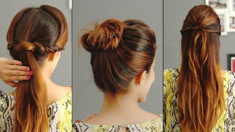 acconciature capelli lunghi-tre-proposte