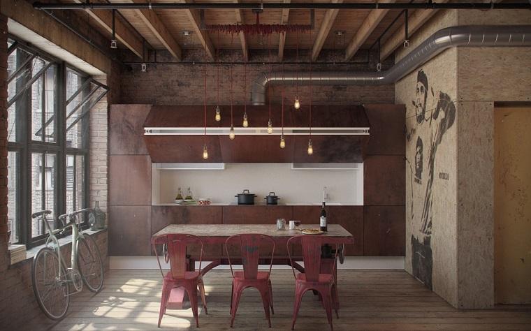 arredare-casa-idee-angolo-cottura-stile-industriale